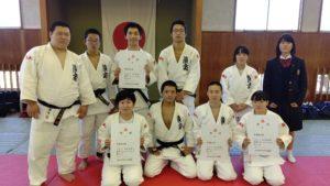大阪高等学校西地区学年別柔道大会